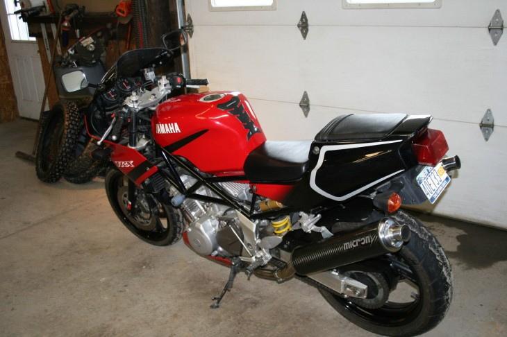 2000 Yamaha TRX850 L Side Rear