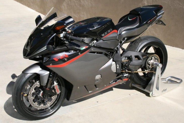 Your Own Pet Shark: 2009 MV Agusta F4 1078 RR 312 for Sale