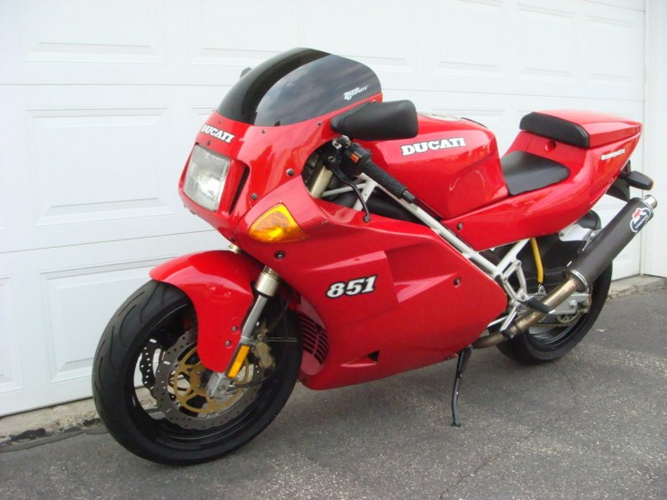 Cared-for Classic – 1992 Ducati 851 Superbike