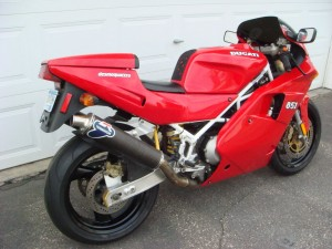 20150331 1992 Ducati 851 right rear