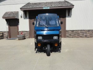 20150401 1993 cushman utility scooter front