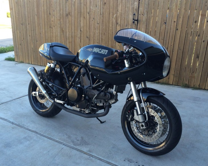 Factory-built Tribute – 2009 Ducati 1000S