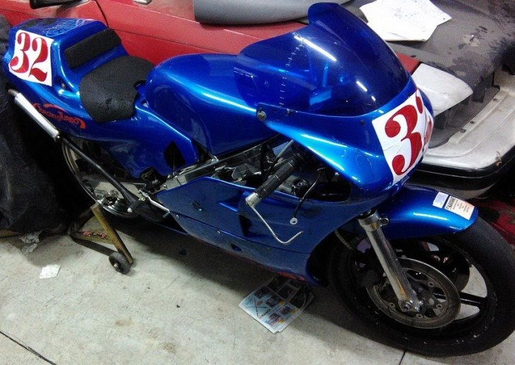 1989 Honda RS250 Renfrow R Front
