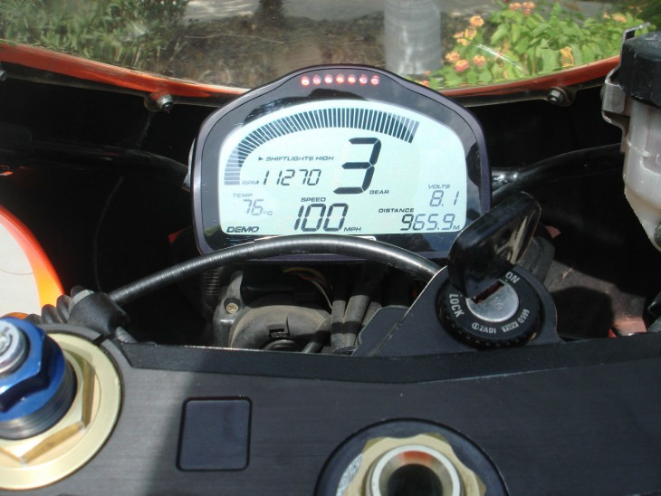 1995 Aprilia RS250 SP Dash