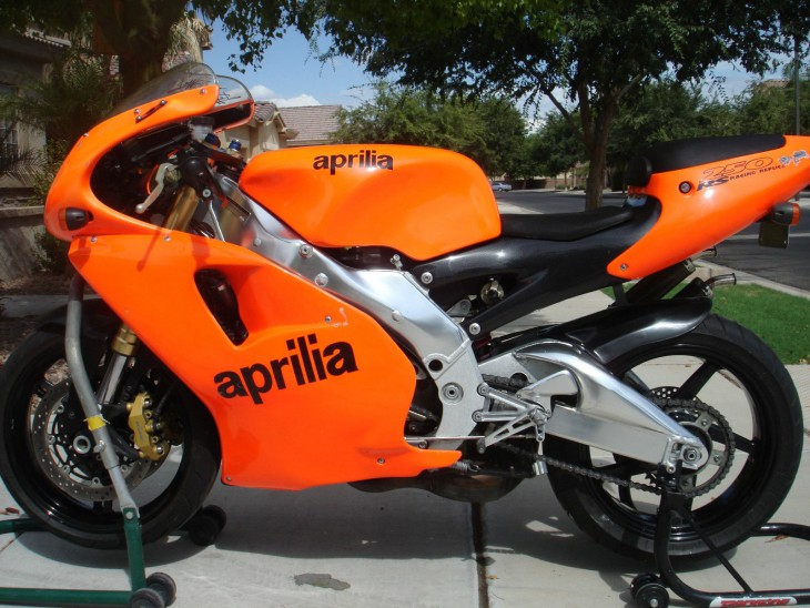 1995 Aprilia RS250 SP L Side