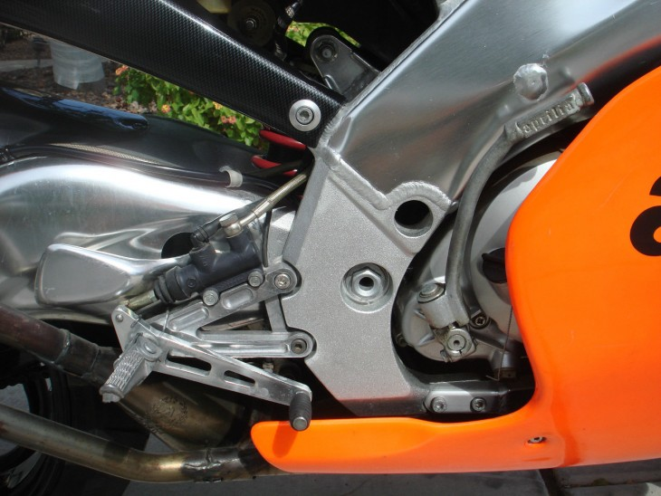 1995 Aprilia RS250 SP R Frame Detail