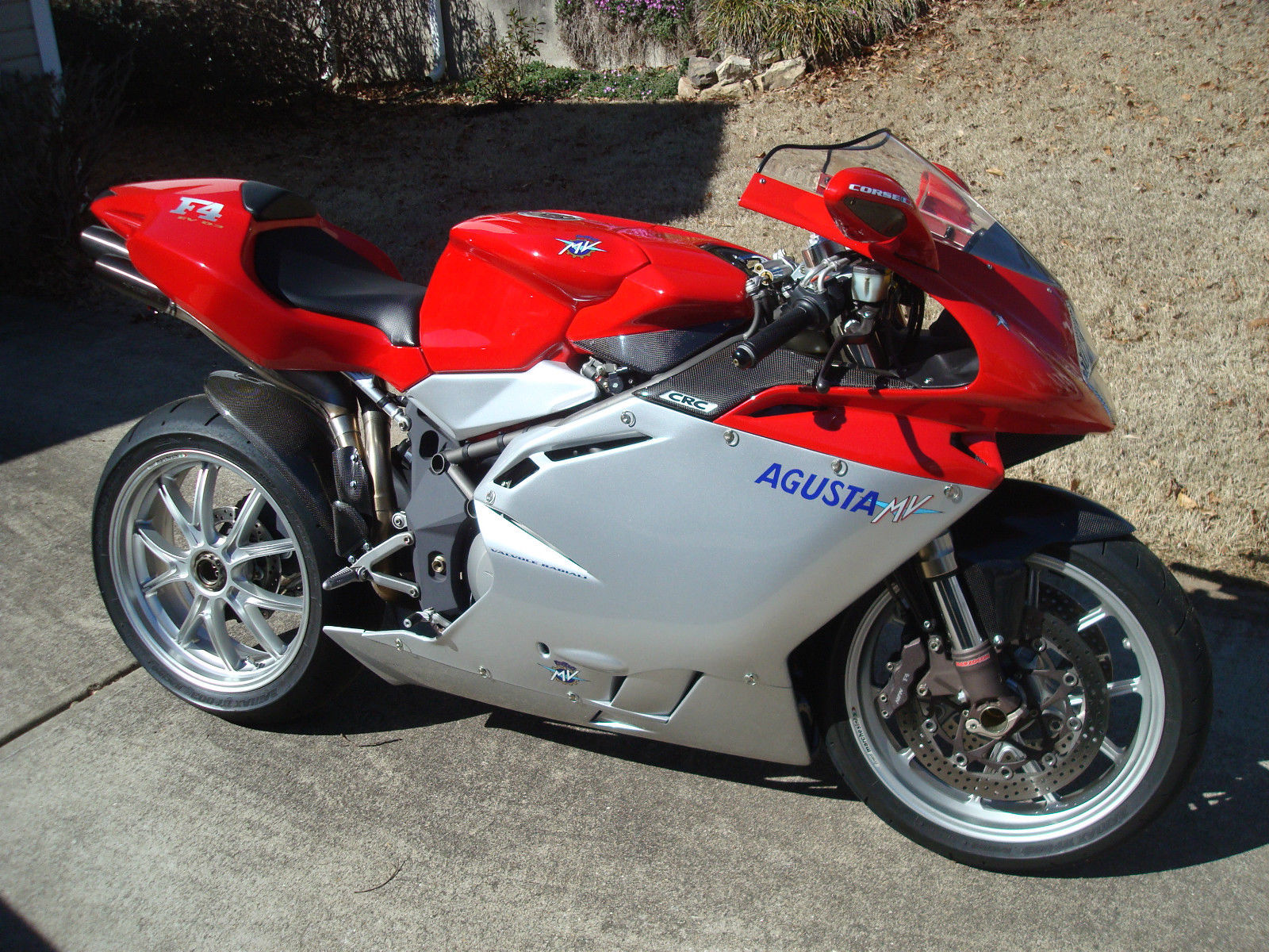 Is The Agusta F A Ducati