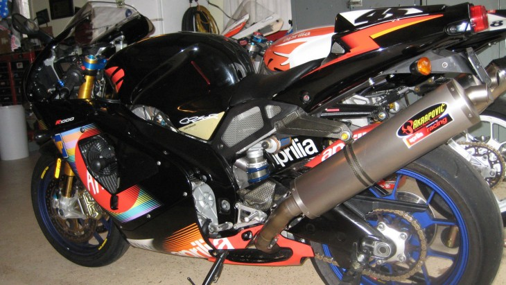 2003 Aprilia RSV Mille R Colin Edwards Edition