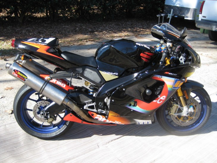 Aprilia Rsv Race Bike For Sale