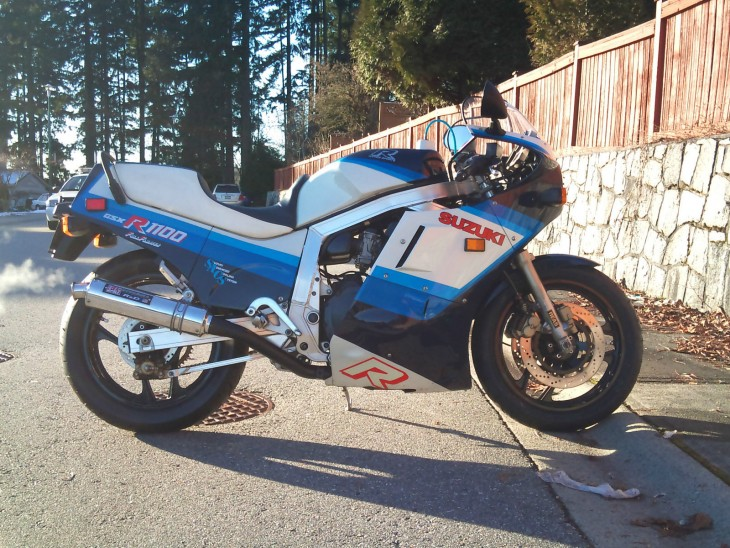 Beautifully Restored 1986 Suzuki GSXR-1100
