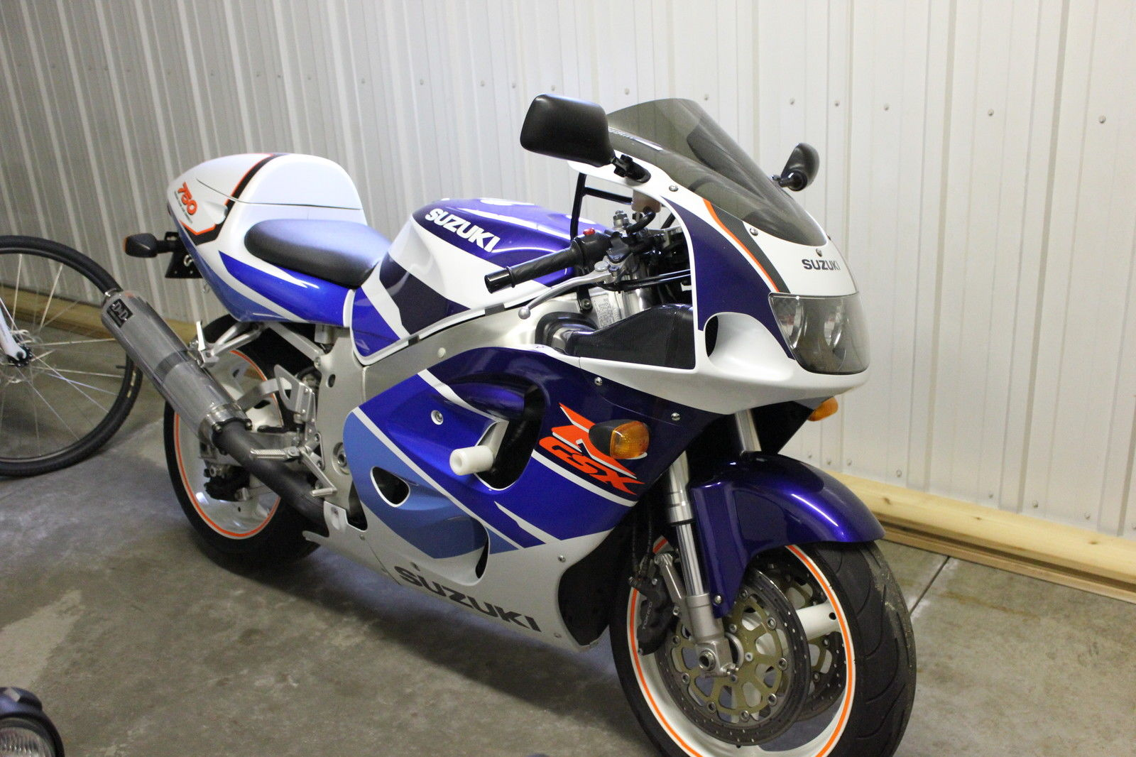 mint middleweight 1997 suzuki gsxr 750 rare sportbikes for sale. Black Bedroom Furniture Sets. Home Design Ideas