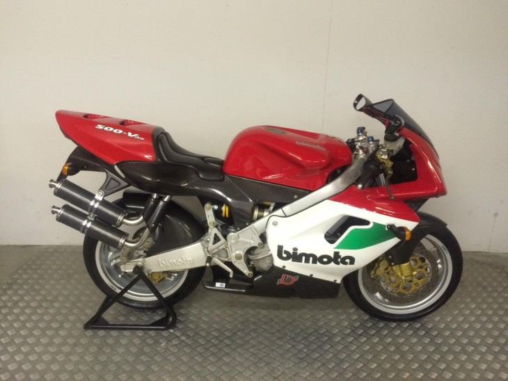 What Could Have Been – 1997 Bimota V-Due