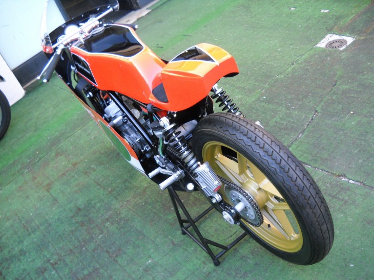 1977 Harley Davidson 250GP L Rear