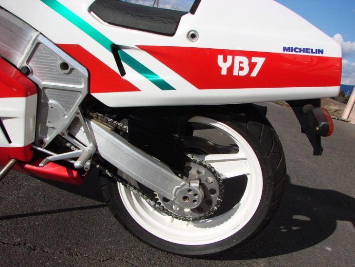 1988 Bimota YB7 L Rear Wheel
