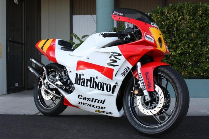 Sensible Tribute – 1984 Yamaha RZ350 Rainey