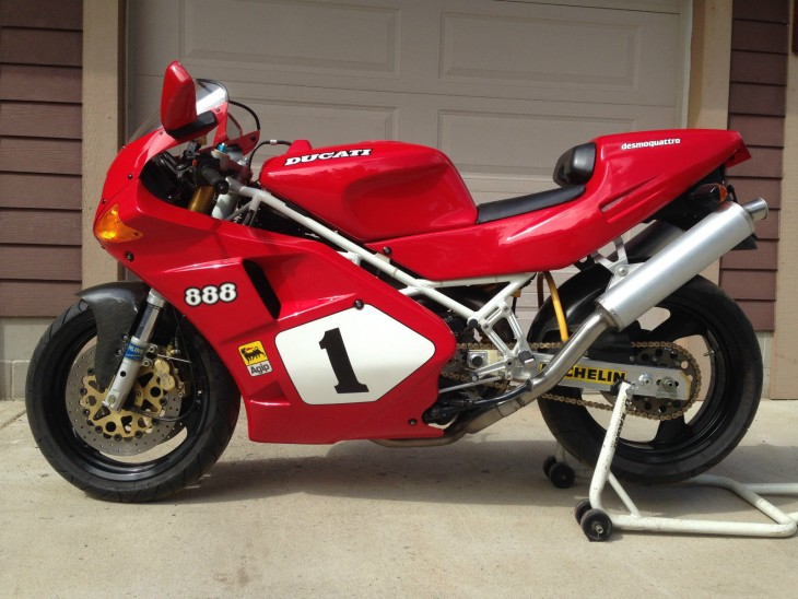 Well there's that – 1992 Ducati 888 SP4 #361