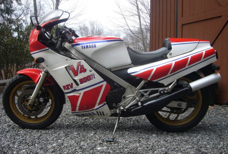 1984 Yamaha RZV500 L Side