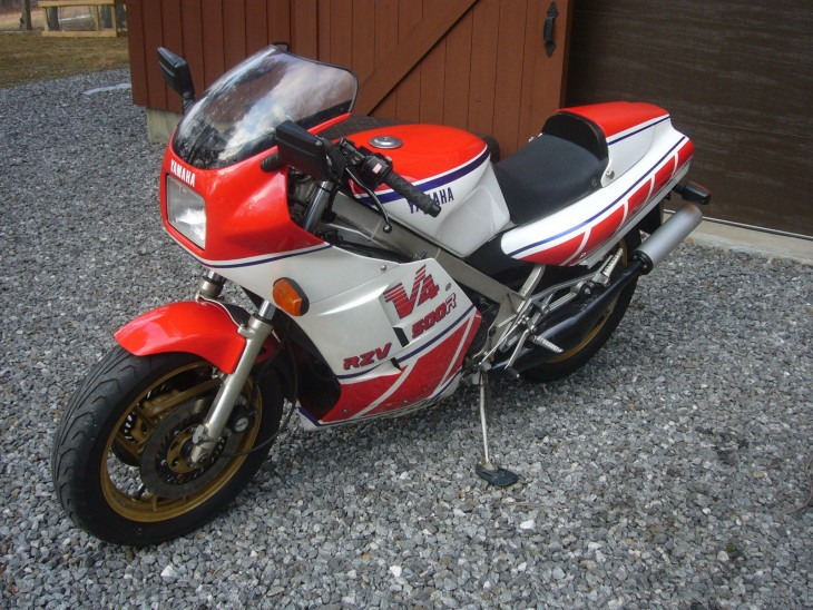 Alloy-Framed Race-Rep: 1984 Yamaha RZV500R