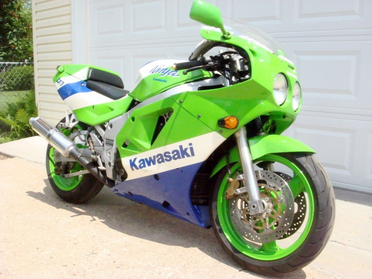 Clean and Green: 1989 Kawasaki ZX-7 H1 for Sale
