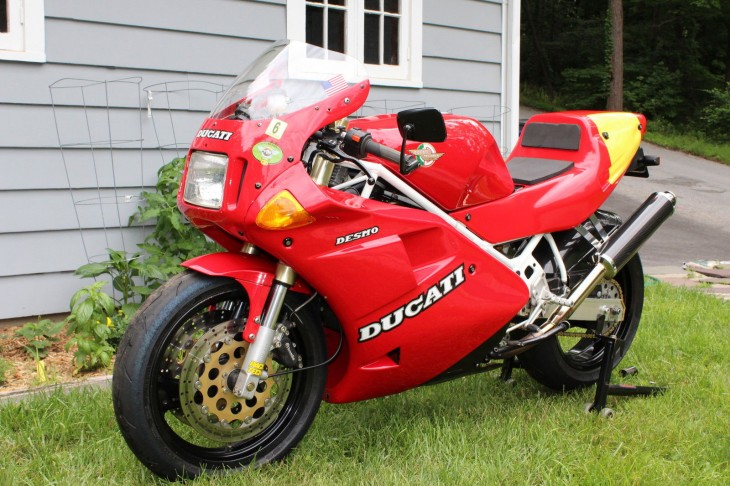 Italian Twin for Road or Track: 1991 Ducati 851 for Sale