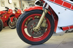 20150602 1983 bimota kb2 laser s left front wheel
