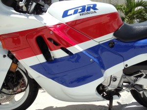 20150608 1989 honda cbr 600f left fairing