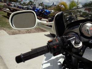 20150608 1989 honda cbr 600f left grip