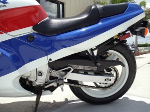 20150608 1989 honda cbr 600f right rear wheel