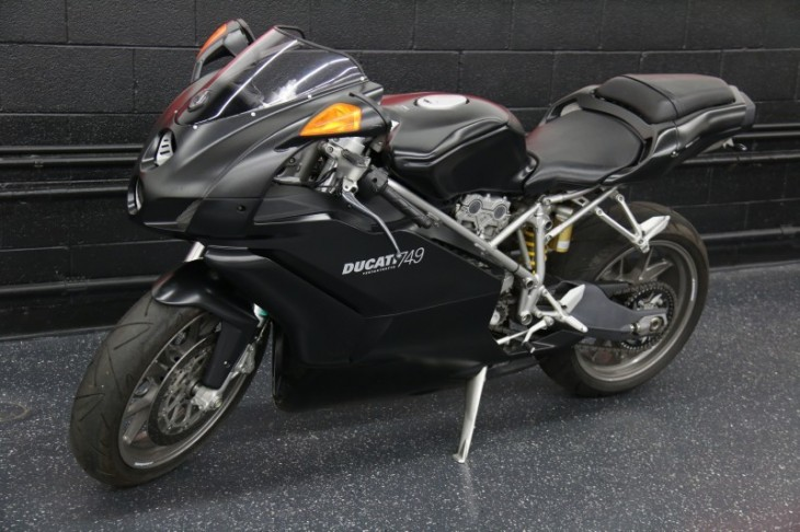 SBK on a budget - 2005 Ducati 749 Dark - Rare SportBikes For Sale