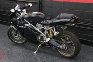 20150612 2005 ducati 749 dark left rear