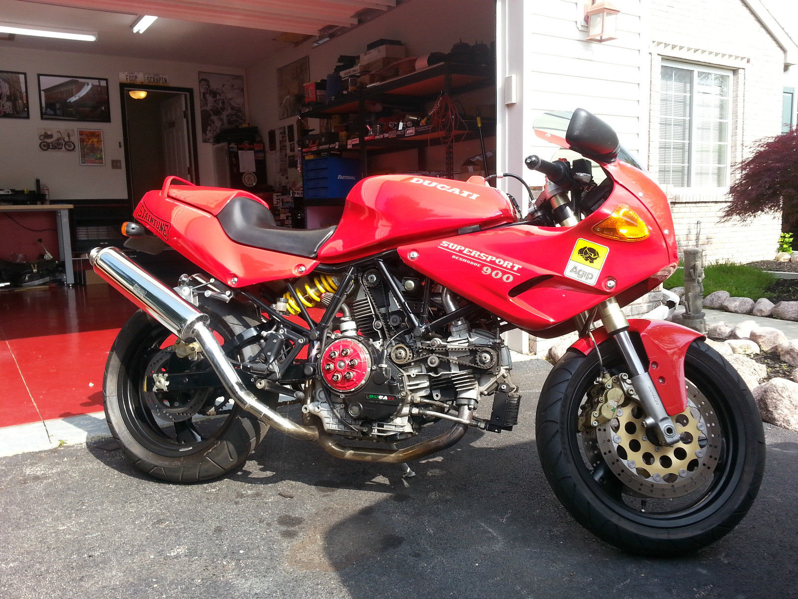 some tasty mods 1995 ducati 900 ss cr rare sportbikes for sale. Black Bedroom Furniture Sets. Home Design Ideas
