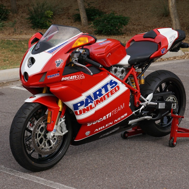 Head fake?  2007 Ducati 999S Parts Unlimited edition