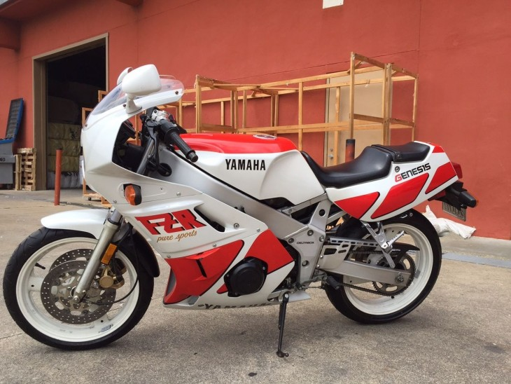 1989 Yamaha FZR400 in San Francisco