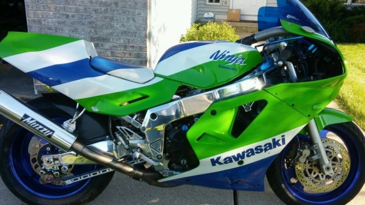Ask and ye shall receive – 1989 Kawasaki ZX7