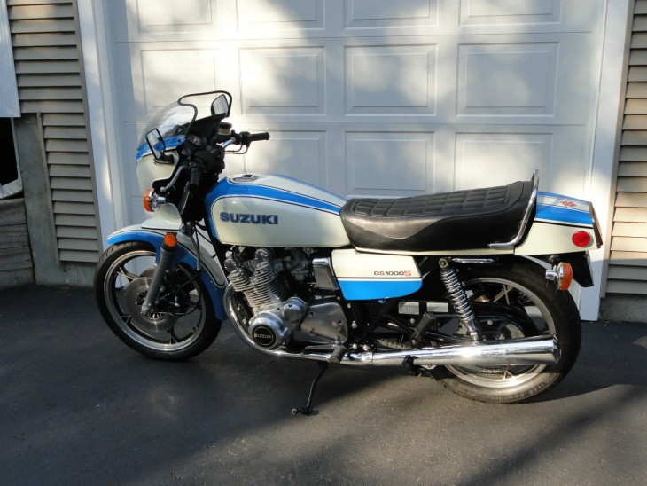 1979 Suzuki GS1000S L Side