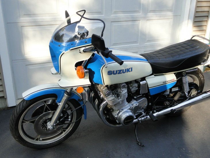1979 Suzuki GS1000S L Side Front