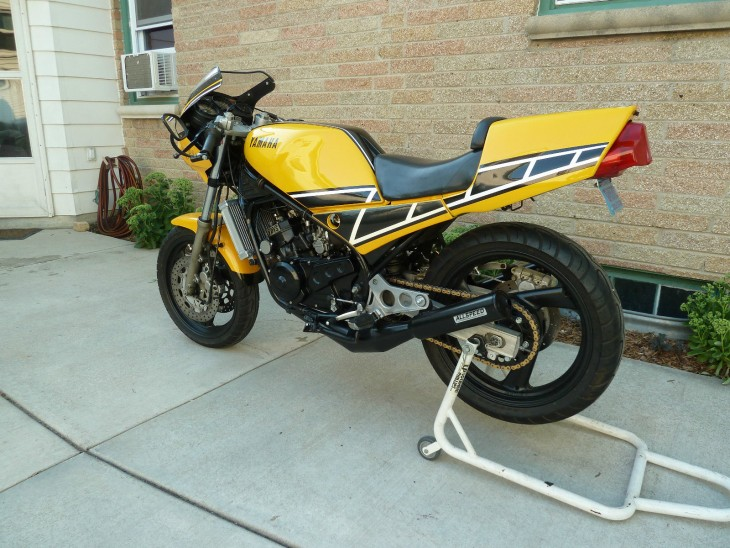 1984 Yamaha RZ350 L Side Rear