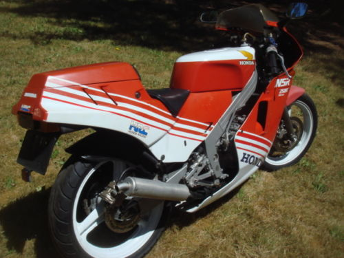 1987 Honda NSR250R R Side Rear