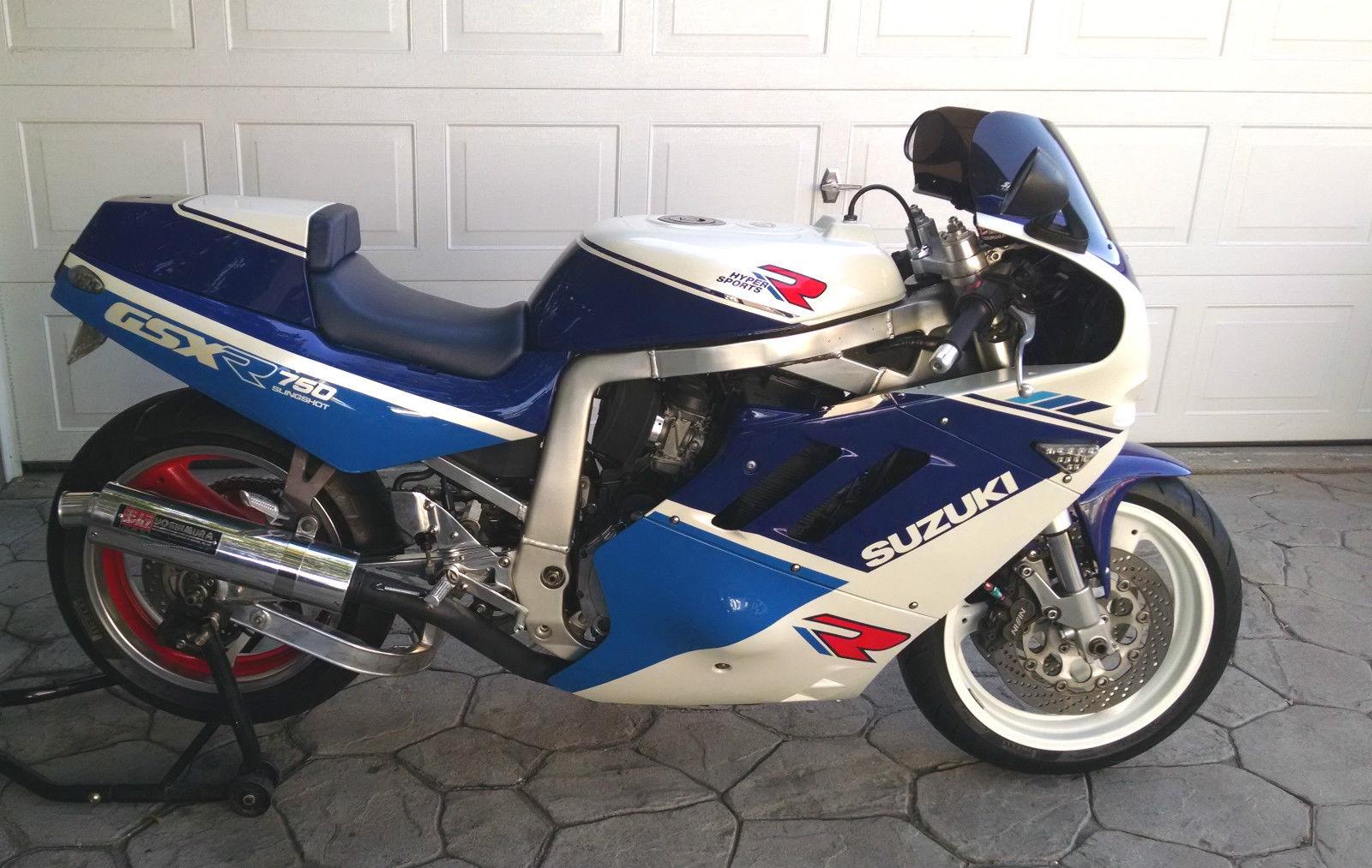 restored slingshot 1988 suzuki gsx r 750 for sale rare sportbikes for sale. Black Bedroom Furniture Sets. Home Design Ideas