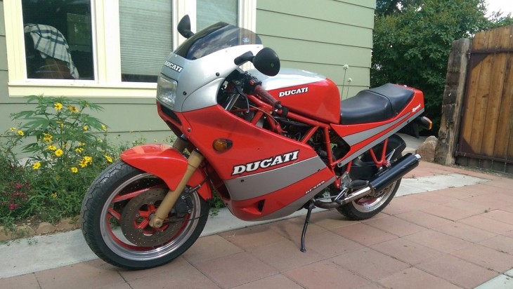 Bridging the Gap: 1990 Ducati 750 Sport for Sale