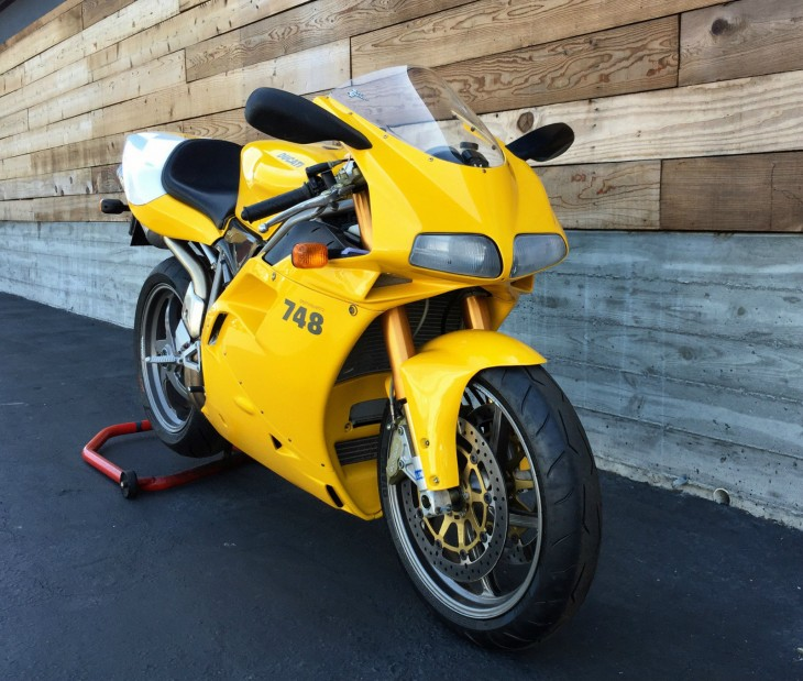 More Than Skin Deep: 2001 Ducati 748R for Sale