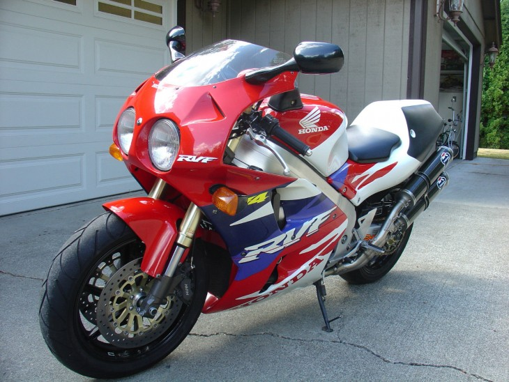 The Rider You've Always Wanted:  1994 Honda RC45
