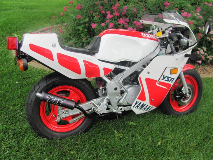 Pocket Rocket – Mint 1987 Yamaha YSR 50