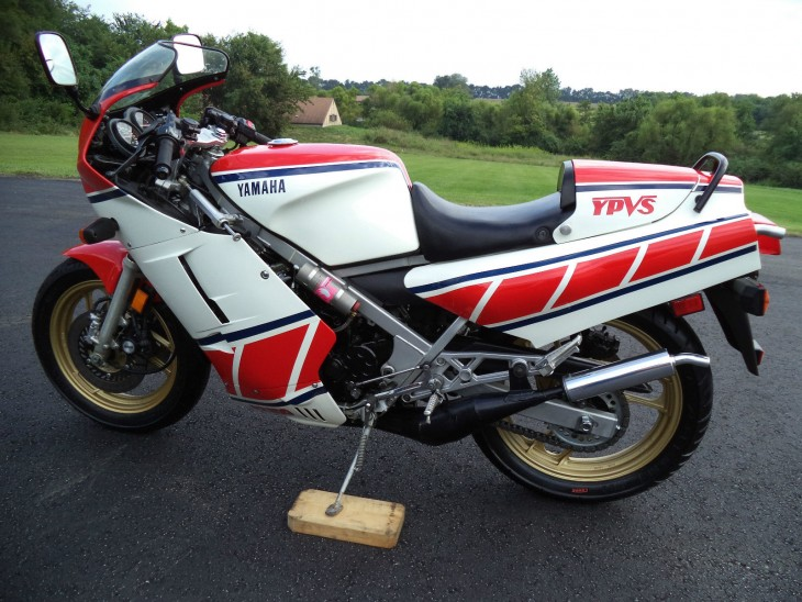1985 Yamaha RZ500 Unrestored L Side