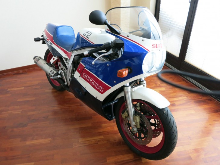 Special Slabbie: 1986 Suzuki GSX-R750 Limited Edition for Sale