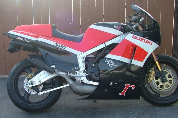Cali-Titled Smoker: 1986 Suzuki RG500 for Sale