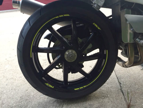 1995 Honda RVF400 Rear Wheel