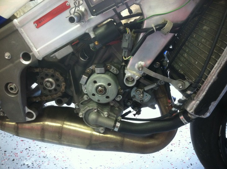 1998 Honda RS250 R Side Engine