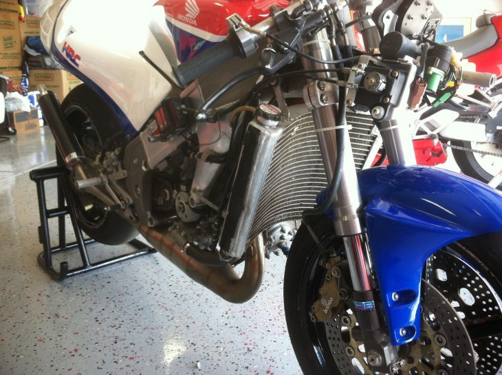 1998 Honda RS250 R Side Front Unfaired