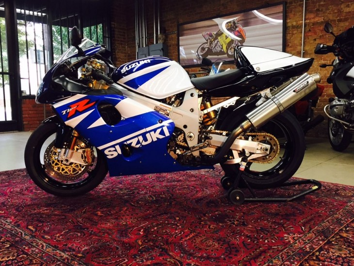 The V-Twin, Perfected: 1998 Suzuki TL1000R for Sale